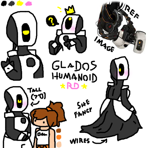 humanoid GLaDOS doodles 1.png